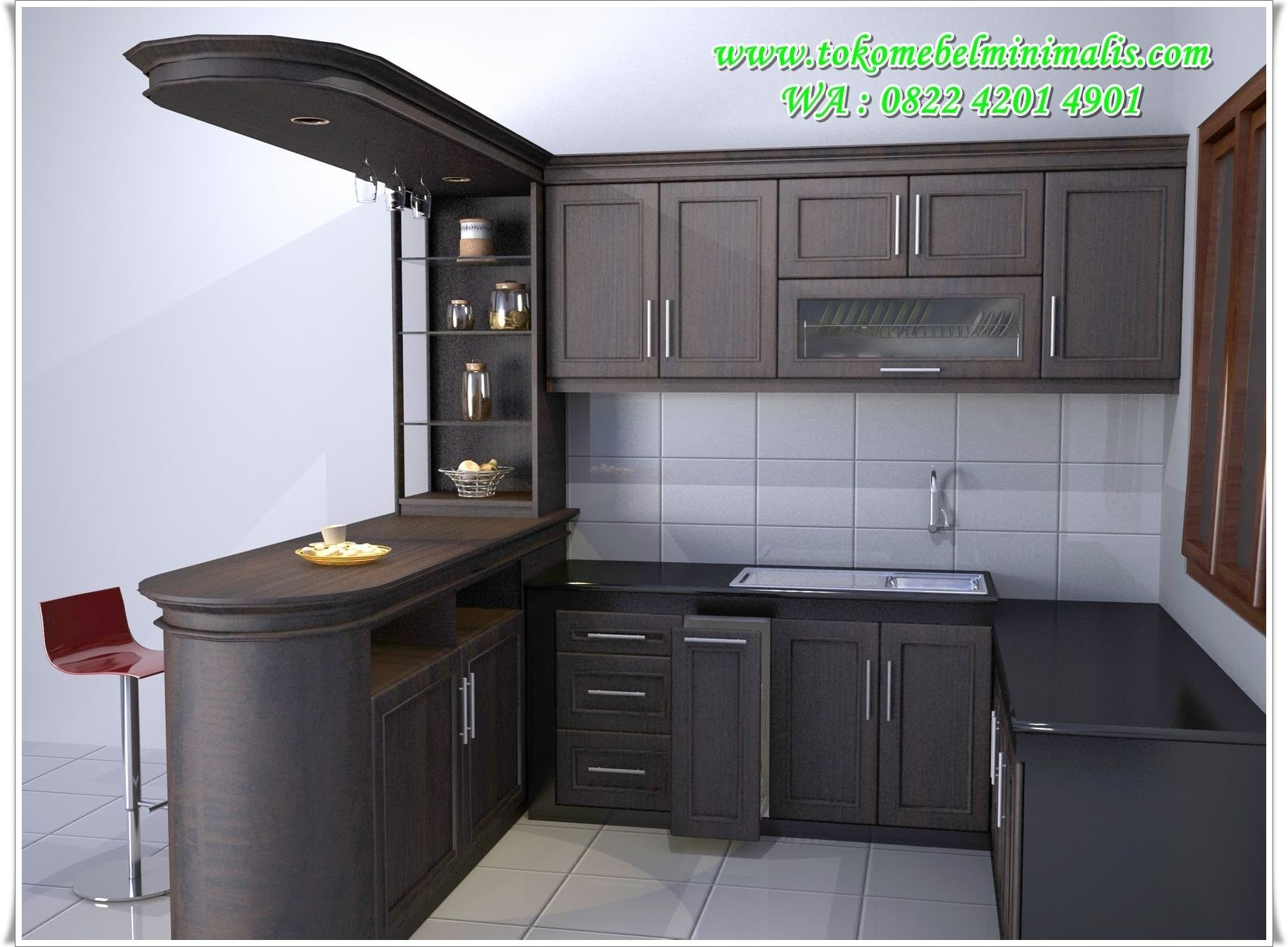 Tipe Dapur Modern Desain Kitchen Set Kitchen Set Murah Kitchen Set Minimalis Modern