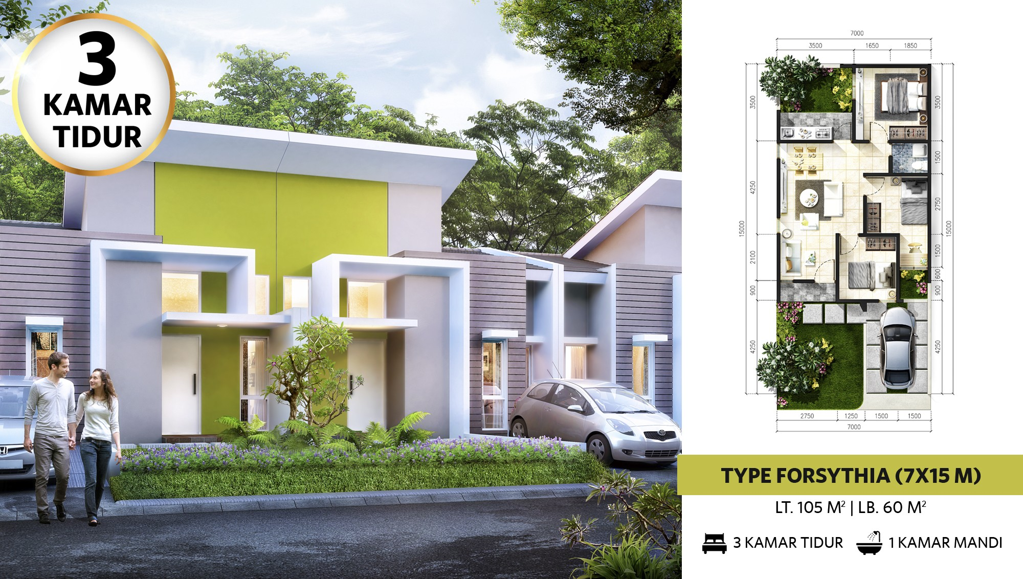 Denah Rumah 2 Lantai Minimalis Type 60 Promo Archives Page 2 Of 3 Citragrand City Palembang